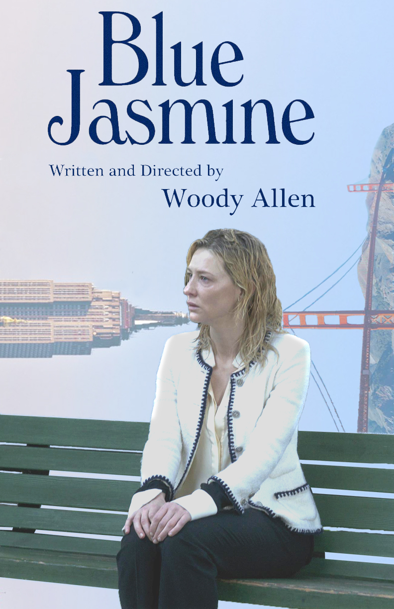Blue Jasmine poster touch ups